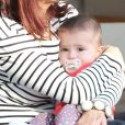 Exclusif - Shiri Appleby avec sa mère Dina Bouader et sa fille Natalie Bouader a West Hollywood, le 25 octobre 2013