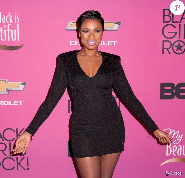 """Jennifer Hudson à la soirée """"Black Girls Rock"""" au NJ Performing Arts Center à Newark, le 26 octobre 2013."""