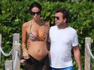 Jade Foret enceinte : Baby bump arrondi et tendres baisers avec Arnaud Lagardère