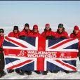 Le prince Harry en Islande en 2011, s'entraînant pour son trek au Pôle Nord avec Walking with the Wounded.