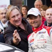 Gérard Depardieu : Belge à fond au côté de Sébastien Loeb !