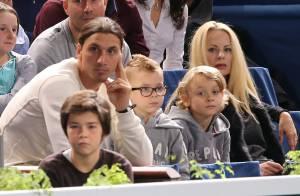 Zlatan Ibrahimovic: Devant sa femme Helena et ses fils, son show avec Djokovic !