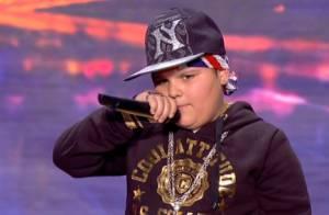 Incroyable Talent 8 : Un mini rappeur étonnant et un ami de la rue de Dave