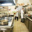 La cuisine de l'Elysée le 31 octobre 2013.
