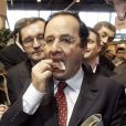François Hollande à Paris, le 8 mars 2007.
