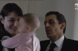 Carla et Nicolas Sarkozy : La petite Giulia, star inattendue de Campagne intime