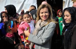 Valérie Trierweiler : Impliquée auprès des enfants réfugiés au Liban
