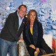 Jean-Pierre Pernaut et Nathalie Marquay découvrent le Noël Enchanté de Disneyland Paris, le 9 novembre 2013.