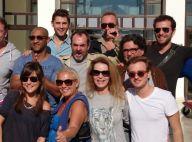 Bruno Solo, Christophe Beaugrand et Antoine Duléry: leur escapade sous le soleil
