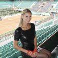 Tatiana Golovin à Roland-Garros en juin 2012