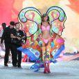 Karlie Kloss lors du défilé Victoria's Secret 2013 à la 69th Regiment Armory. New York, le 13 novembre 2013.