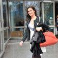 Exclusif Miss Ile de France 2013 Laetitia Vuillemard candidate Miss France 2014 a la sortie de TF1 le 14 novembre 2013 a Paris.  no web for belgium and switzerland14/11/2013 - Paris