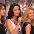 Les 33 candidates pour Miss France 2014 invitées sur le plateau du journal de 13h de Jean-Pierre Pernaut sur TF1 le jeudi 14 novembre 2013