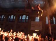 George Watsky : Le rappeur saute dans le public et casse le bras d'une fan