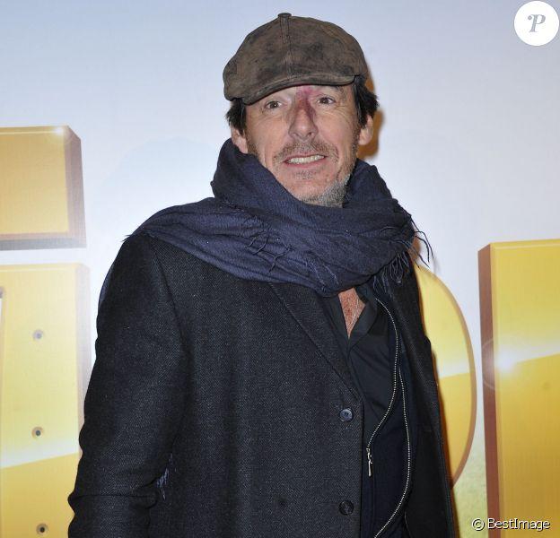 Jean-Luc Reichmann au Gaumont Opera, à Paris, le 21 janvier 2013.