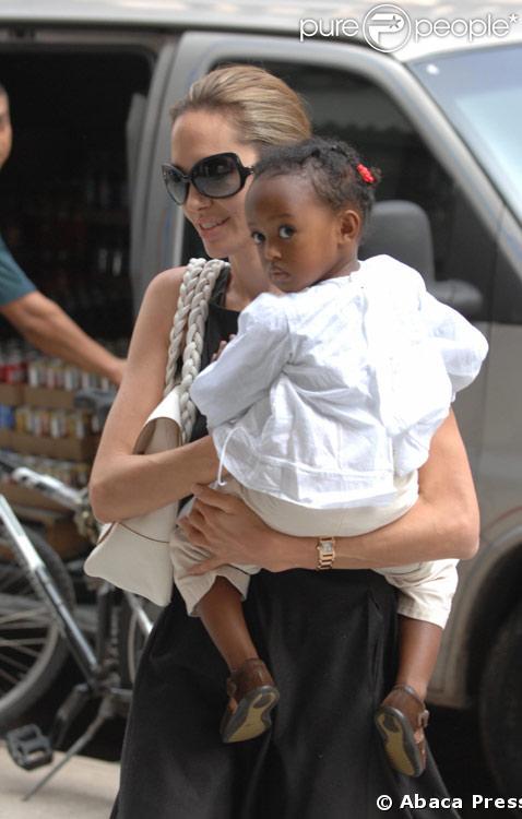 Angelina Jolie avec Zahara