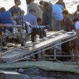 """Exclusif - Tom Holland sur le tournage du film """"Heart of the sea"""" sur l'île de la Gomera, Canaries, le 20 novembre 2013."""