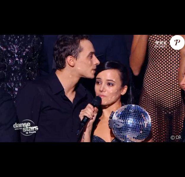 Alizée, victorieuse dans Danse avec les stars 4 sur TF1, avec Grégoire.
