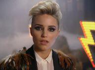 Dianna Agron : Rockeuse à moustache dans le nouveau clip de The Killers