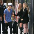Justin Bieber fait du shopping à West Hollywood, Los Angeles, le 16 novembre 2013.