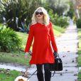 Gwen Stefani se rend chez ses parents pour fêter Thanksgiving à Los Angeles, le 28 novembre 2013.