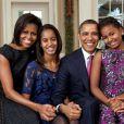 Michelle Obama a passé Thanksgiving à la Maison Blanche avec son mari Barack et leurs filles Malia et Sasha.