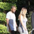 Kim Kardashian et Kanye West en vacances à Miami pour Thanksgiving, le 28 novembre 2013.