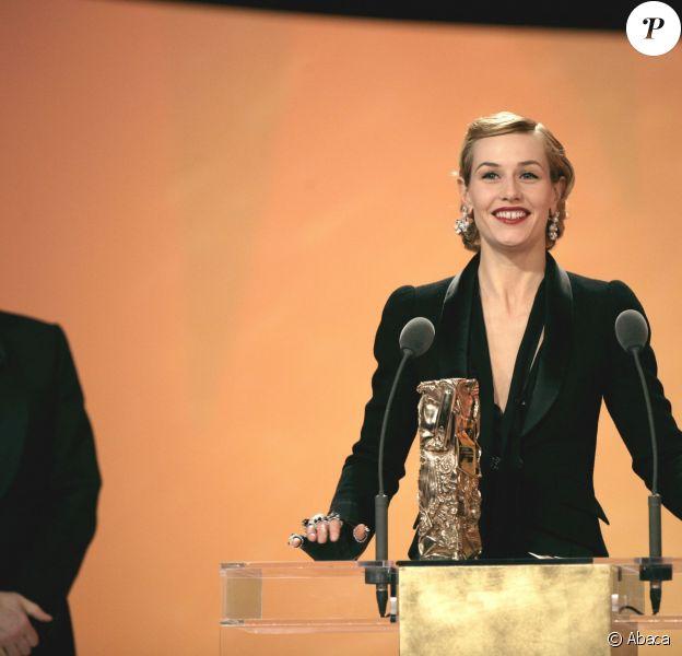 Cécile de France, ici sacré meilleure actrice dans un second rôle aux César 2006, présentera les César 2014, succèdant à Antoine de Caunes.