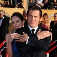 Diane Lane et Josh Brolin lors des Screen Actors Guild à Los Angeles le 29 janvier 2012