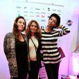 """Exclusif - Vanessa Demouy, Julie Sisley et Sonia Rolland lors de la 2eme édition du """"Spot des e-Fluent Mums"""", le salon des parents blogueurs, à l'espace Richelieu. Paris, le 4 décembre 2013."""