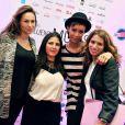 """Exclusif - Vanessa Demouy Sonia Rolland et Julie Sisley lors de la 2eme édition du """"Spot des e-Fluent Mums"""", le salon des parents blogueurs, à l'espace Richelieu. Paris, le 4 décembre 2013."""