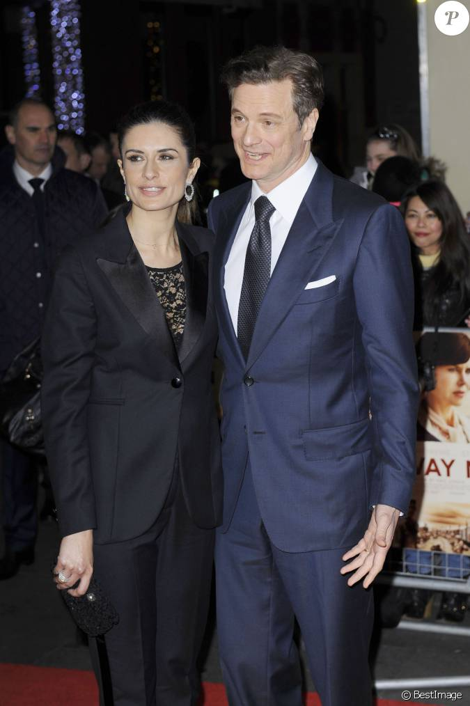 Colin Firth, radieux e...