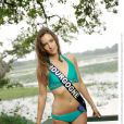 Marie Reintz, Miss Bourgogne 2013, candidate en maillot de bain pour Miss France 2014.