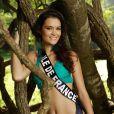 Laetitia Vuillemard, Miss île-de-France 2013, candidate en maillot de bain pour Miss France 2014.