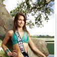 Camille Duban, Miss Franche-Comté 2013, candidate en maillot de bain pour Miss France 2014.
