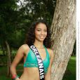 Flora Coquerel, Miss Orléanais 2013, candidate en maillot de bain pour Miss France 2014.