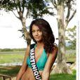 Nathalie Frédal, Miss Martinique 2013, candidate en maillot de bain pour Miss France 2014.