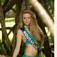 Miss Roussillon, candidate en maillot de bain pour Miss France 2014.