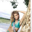 Chloé Deher, Miss Guadeloupe 2013, candidate en maillot de bain pour Miss France 2014.