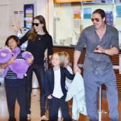 Angelina Jolie et Brad Pitt avec leurs six enfants : Instant magique sur l'eau