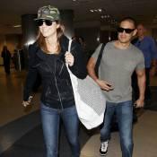 Stacy Keibler : Avec son amoureux Jared, l'ex de George Clooney est sur un nuage