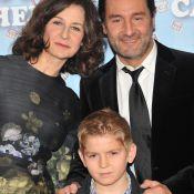 Valérie Lemercier, Gilles Lellouche et leur petit garçon ''100% Cachemire''
