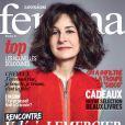 Valérie Lemercier en couverture de Version Femina, supplément du Journal du dimanche du 8 décembre 2013