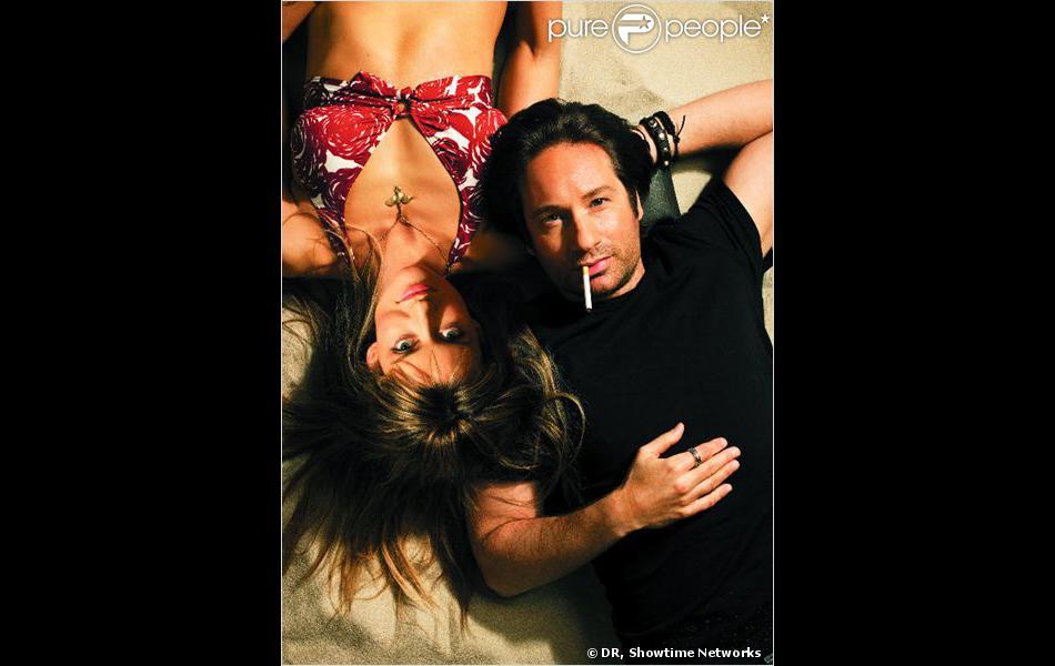 Karen (Natasha McElhone) et Hank Moody (David Duchovny) dans Californication