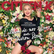 Sharon Stone : Sublime héroïne romantique pour les 20 ans de ''Citizen K''