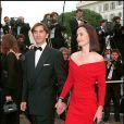 Christophe Malavoy et sa femme Isabelle lors du Festival de Cannes 1994