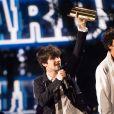 Louis Delort - 15e cérémonie des NRJ Music Awards à Cannes, le 14 décembre 2013.