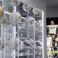 Cristiano Ronaldo lors de l'inauguration de son musée à Funchal sur l'île de Madère, le 15 décembre 2013