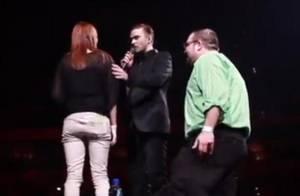 Justin Timberlake : Il aide un fan à faire sa demande en mariage en plein show