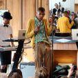 Stromae lors du W9 Home Festival à Paris. Le 28 septembre 2013.